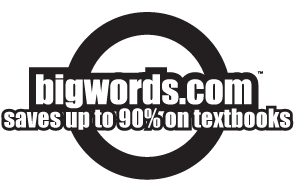 BIGWORDS.com saves up to 90% on textbooks.